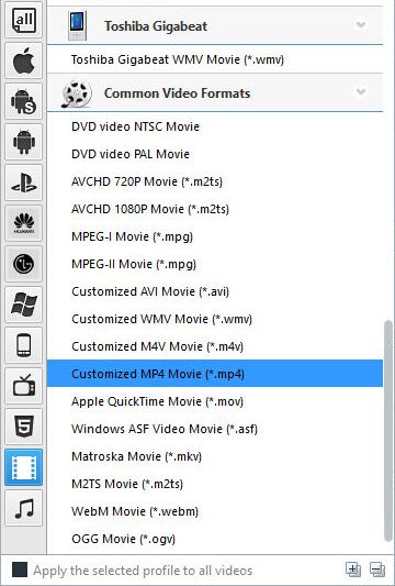 Convert 4k video to mp4