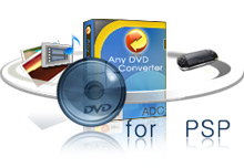 PSP Video Converter + PSP DVD Converter, DVD to PSP, DVD to Sony Walkman, video to PSP, video to Sony Walkman