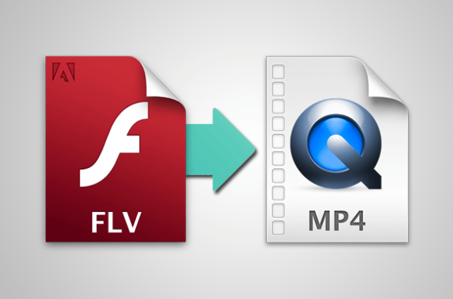 convert flv to mp4