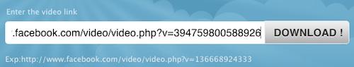 facebook video online downloader