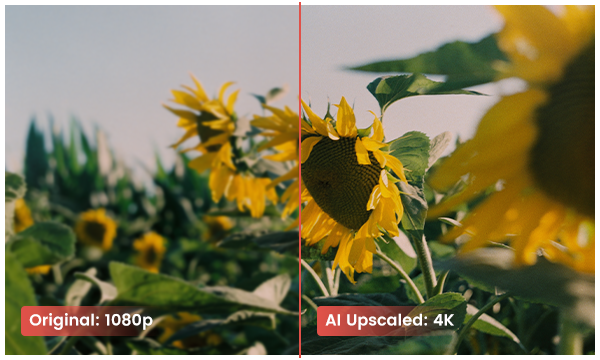 upscale video from 1080p to 4k