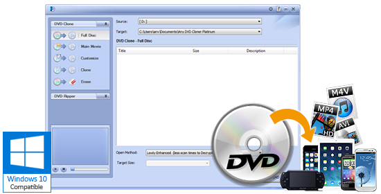 Any DVD Cloner Platinum Windows