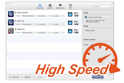 High Speed Conversion